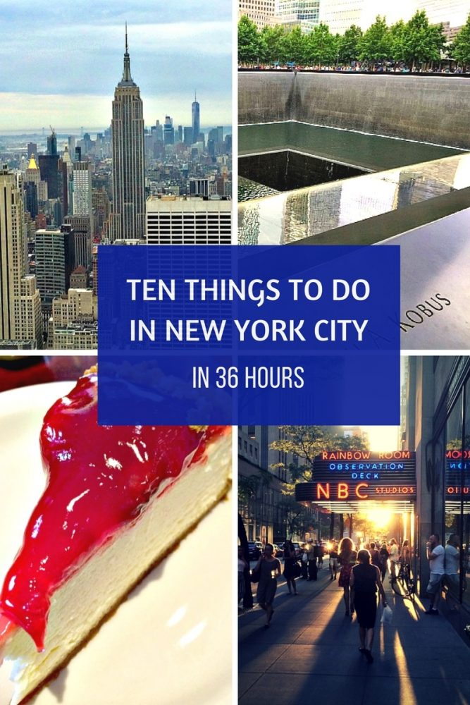 Ten Things to See in New York in 36 Hours1