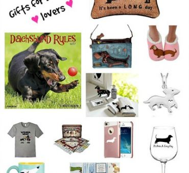 Gift Ideas for Dachshund Lovers