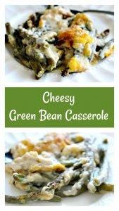 Cheesy Green Bean Casserole7