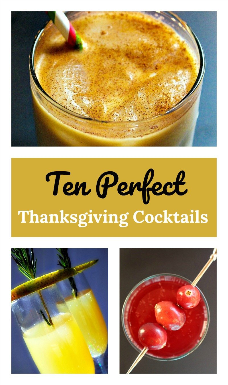 Ten festive cocktails that pair perfectly with Thanksgiving dinner!
