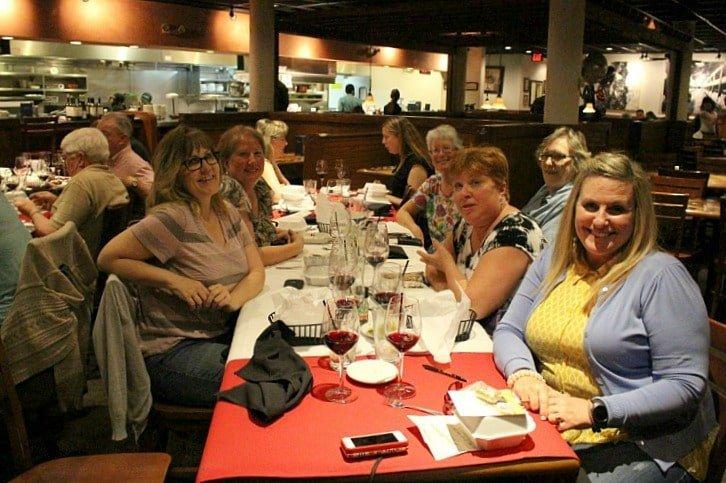 Worlds largest Wine Dinner at Carrabbas 10