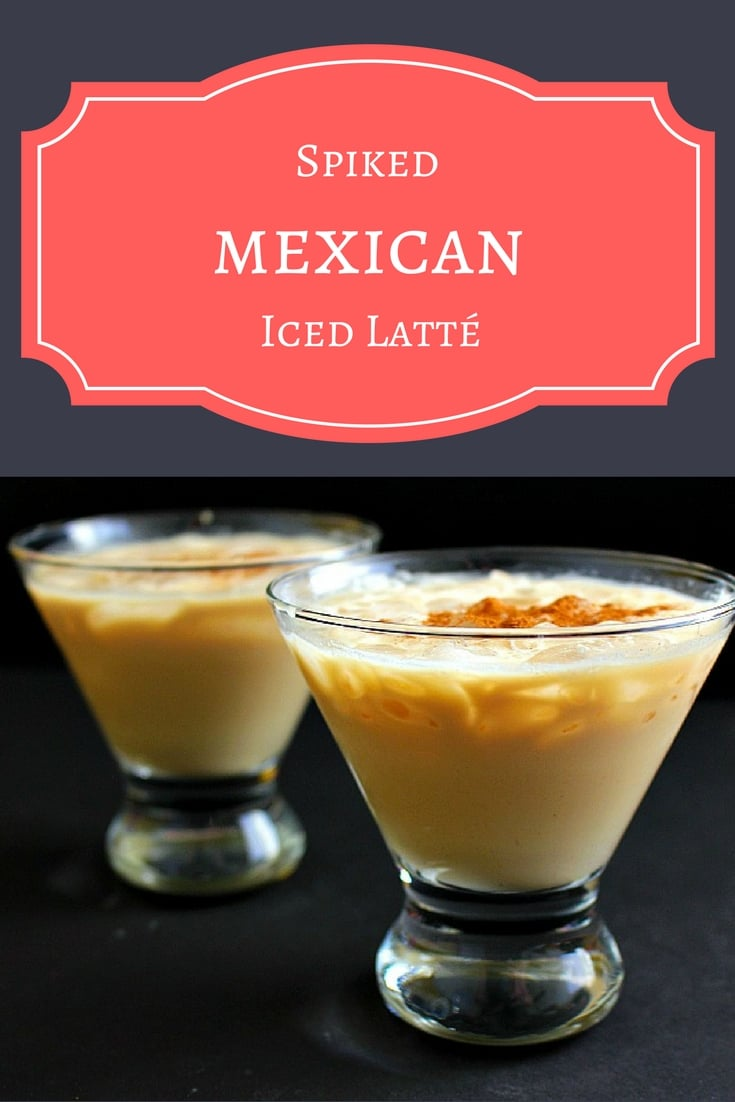 A spiked Mexican iced latté made with 1921 tequila cream, Tuaca, espresso, and cream.  Perfect for Cinco de Mayo!