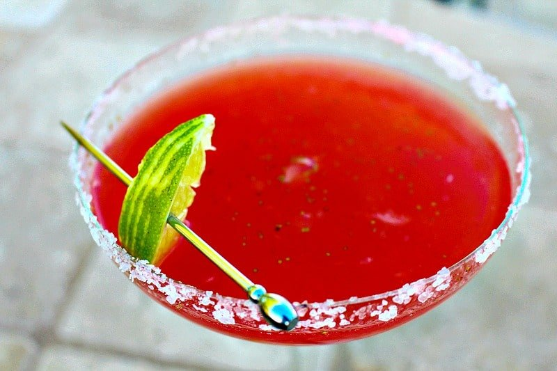Strawberry Limeade Margaritas 2