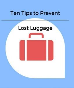 Ten Tips to Prevent Lost Luggage