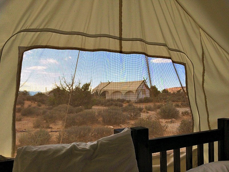 Glamping Under Canvas Moab3