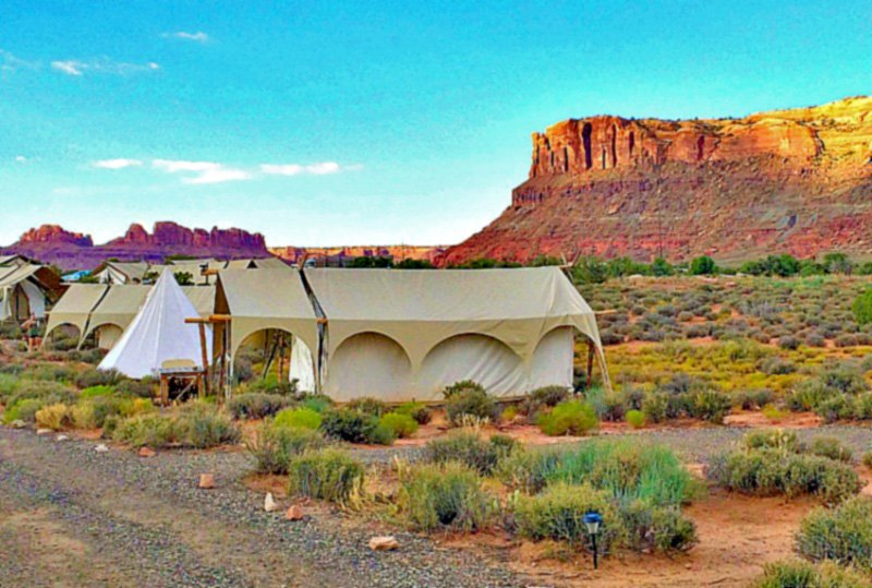 Glamping Under Canvas Moab9