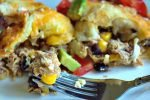 Black Bean Chicken Chile Enchiladas17