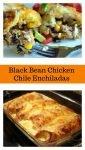Black Bean Chicken Chile Enchiladas21