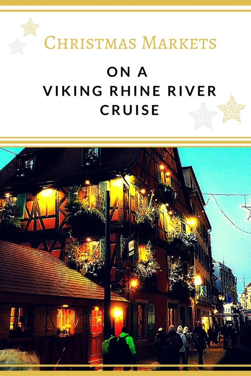 A Viking Rhine River Cruise is a wonderful experience any time of the year, but especially during the holidays, when you can visit the Christmas markets of Europe.