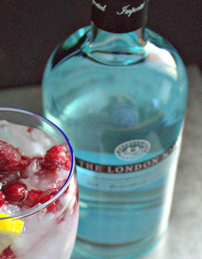 Raspberry Gin & Tonic Cocktail9