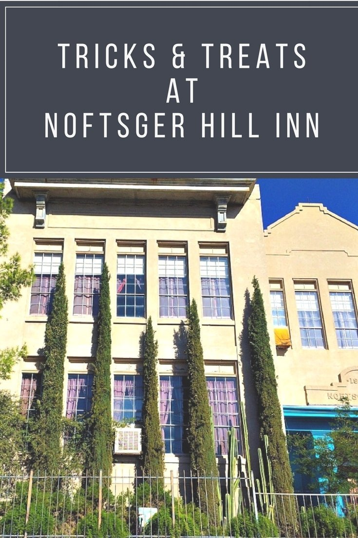 A peek at the historic (and supposedly haunted) Noftsger Hill Inn Bed and Breakfast in Globe, Arizona.