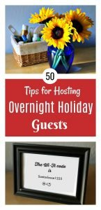 Tips for Hosting Overnight Guests4