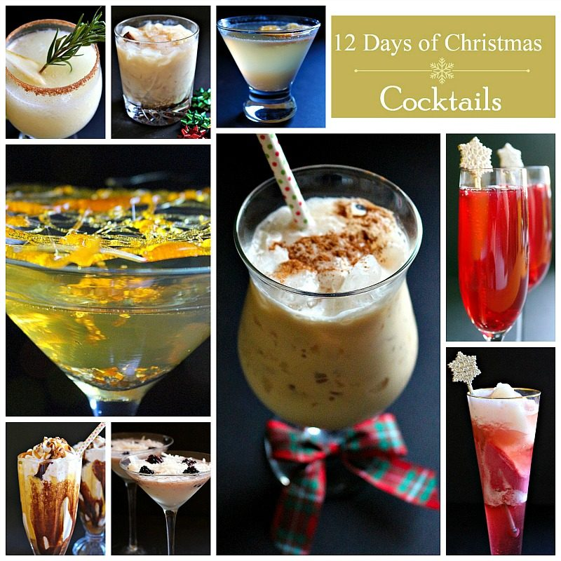 12 Days of Christmas Cocktails Day 9