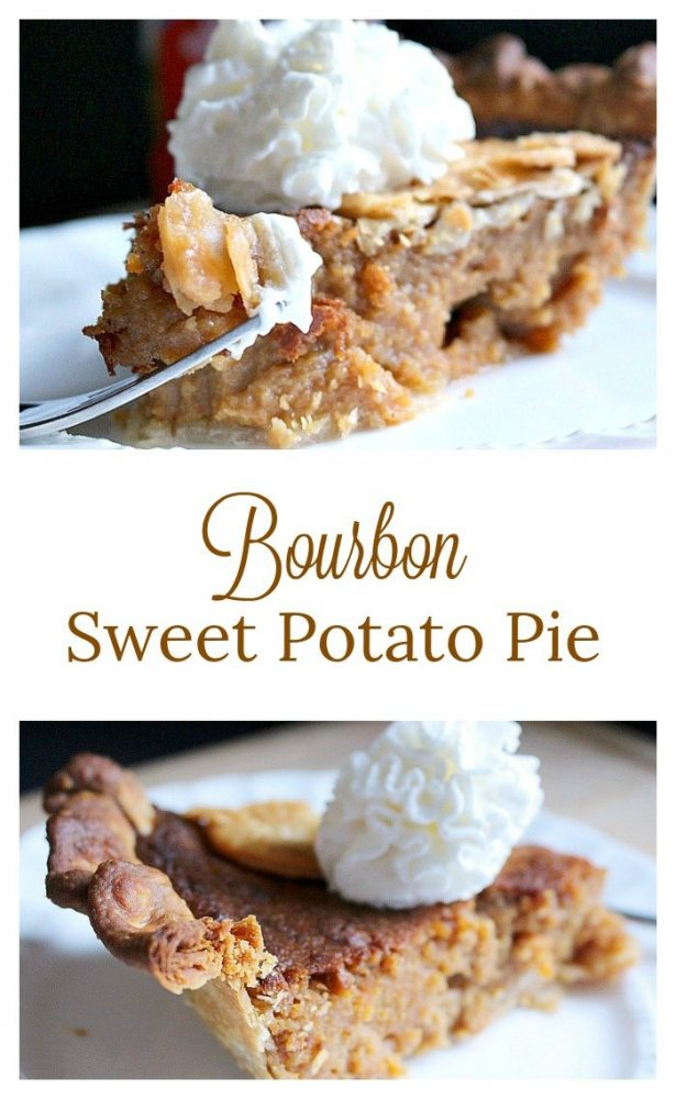 Bourbon Sweet Potato Pie14