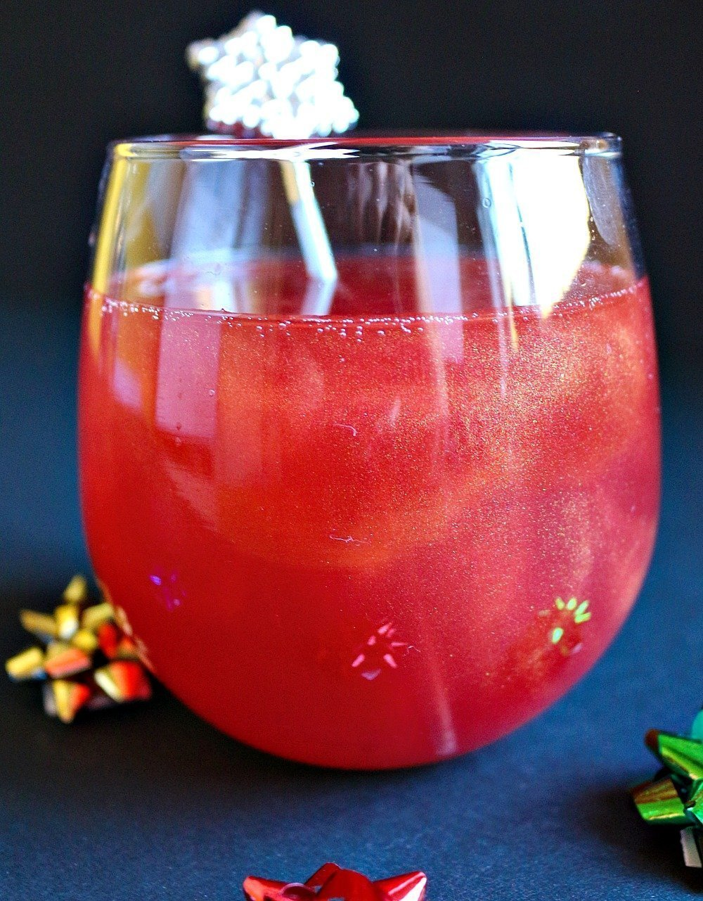 Christmas Ruby French 75 Coccktail 7