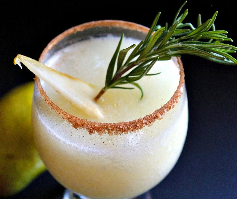 Gingered Pear Margarita12