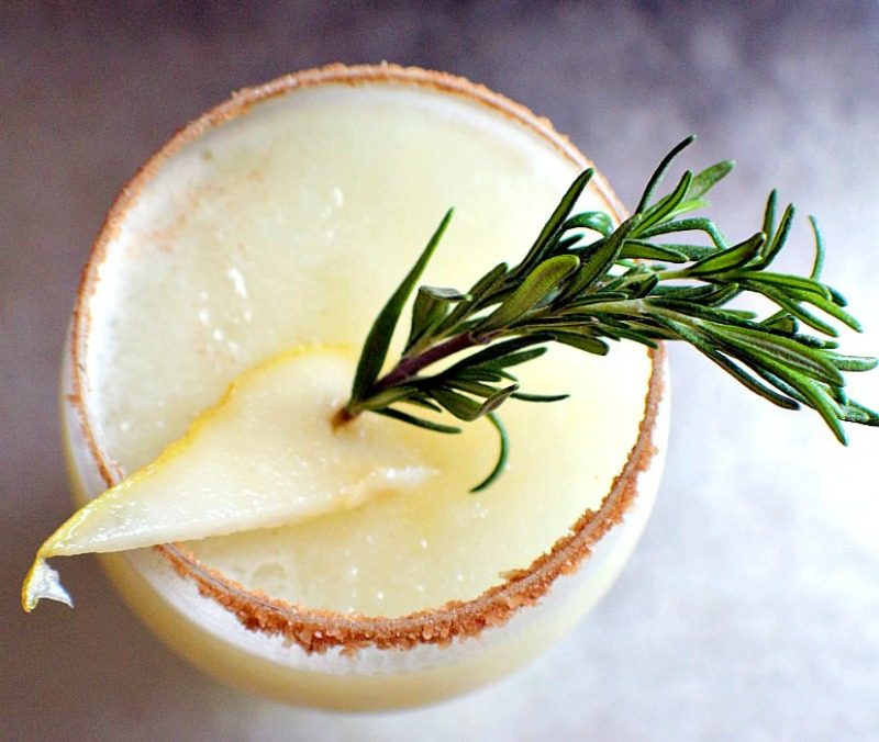 Gingered Pear Margarita5