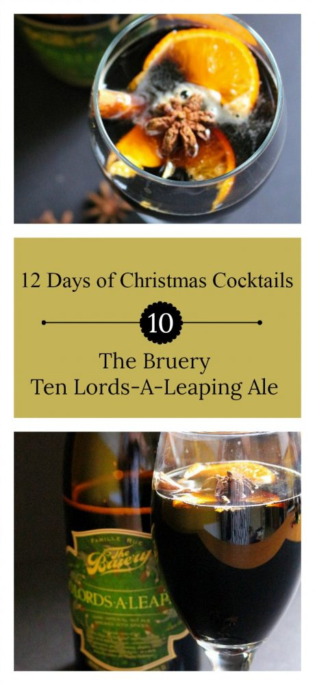 The 10th Day of Christmas | The Bruery Ten Lords-A-Leaping Ale + a Nut & Cheese Board Pairing