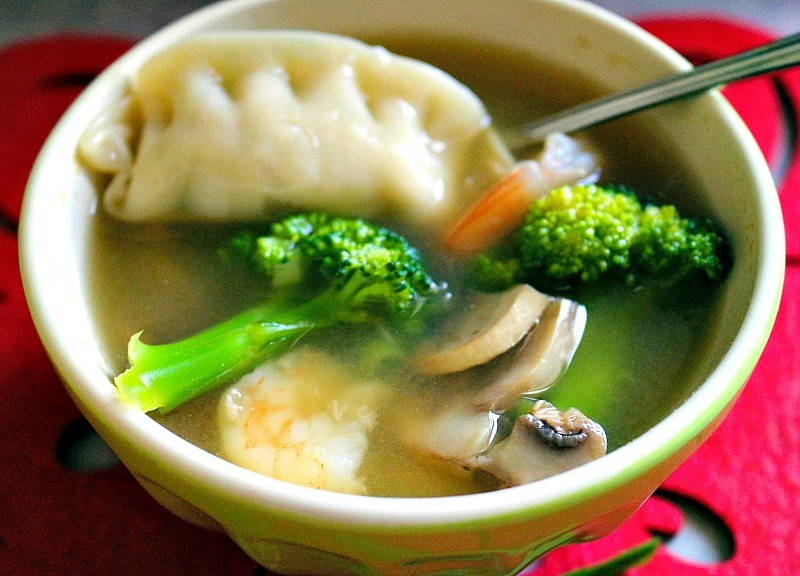 Easy wor wonton soup3