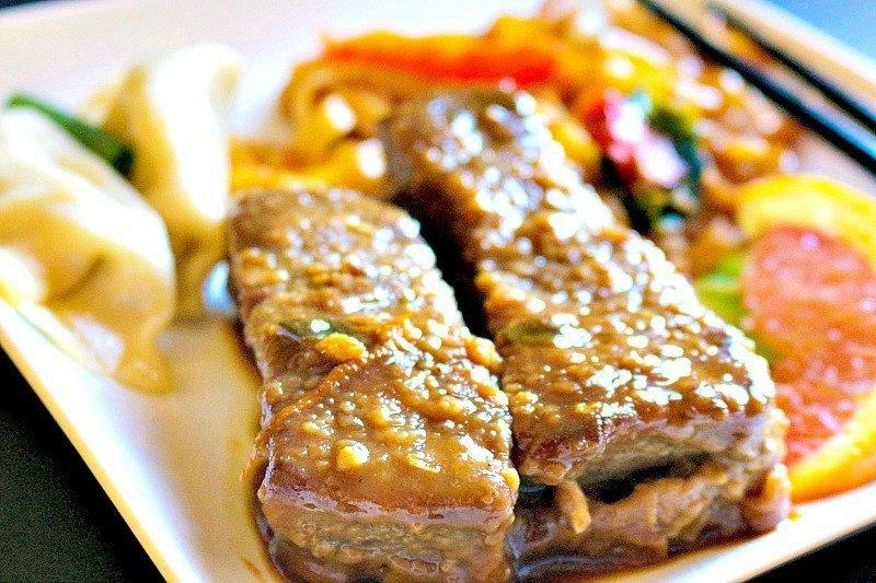 Orange Ginger Beef Ribs16