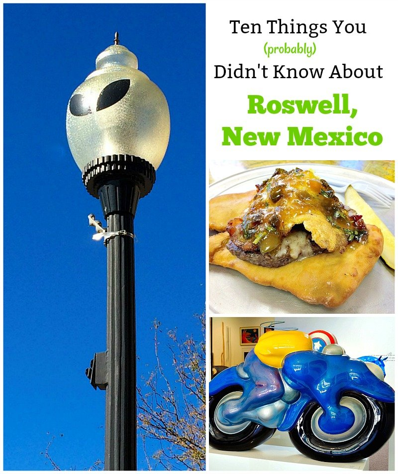 Ten things you probably didn't know about Roswell, New Mexico (but should) that makes it a great travel destination. It is more than just UFO's!