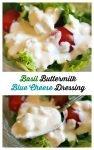 Basil Buttermilk Blue Cheese Dressing5