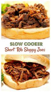 Slow Cooker Short Rib Sloppy Joes8