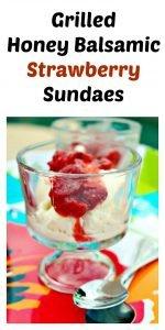 Grilled Honey Balsamic Strawberry Sundaes5