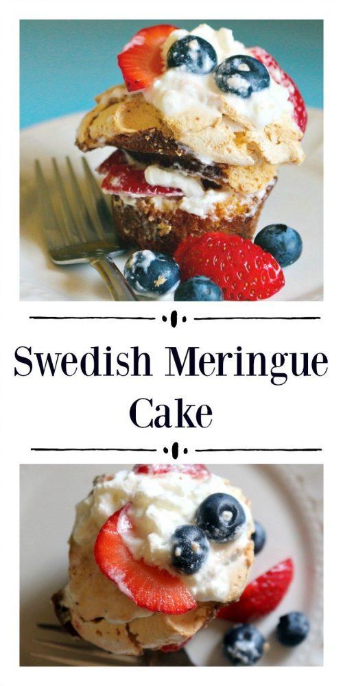 Swedish Meringue Cake11