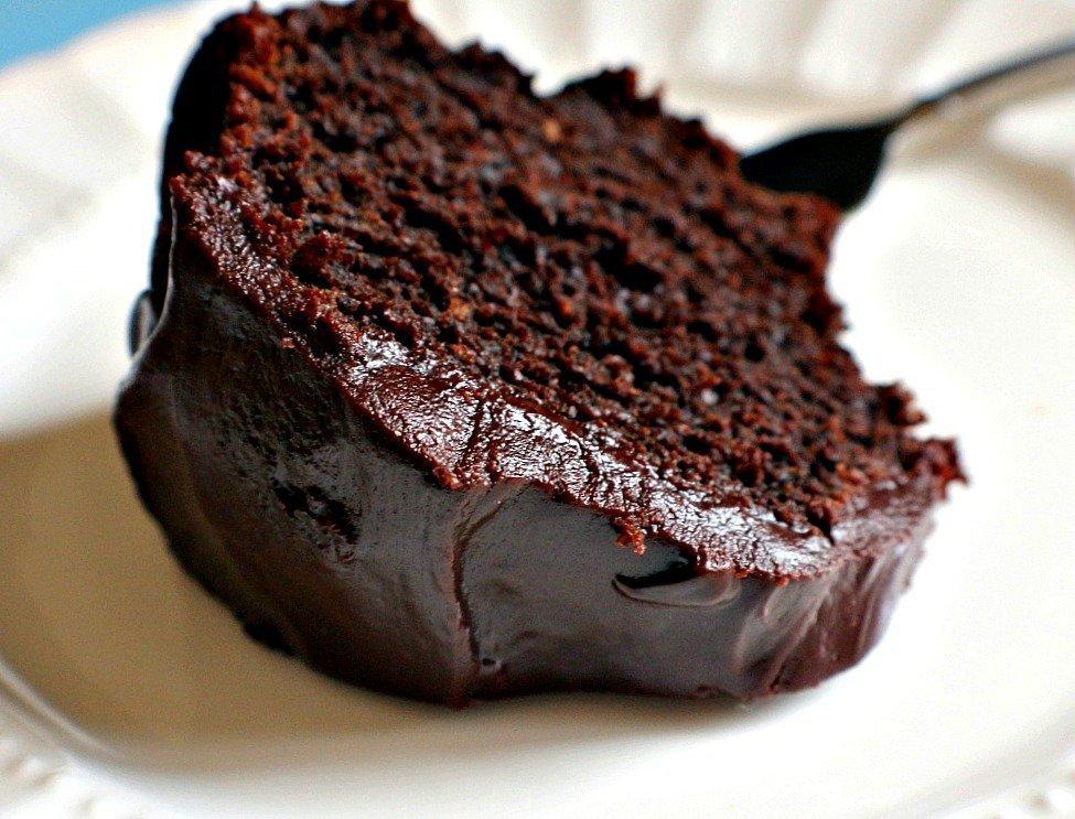 Wicked Chocolate Bundt Cake