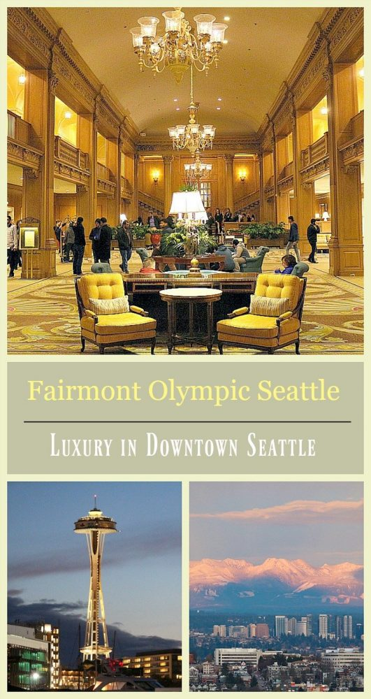 Fairmont Olympic Seattle luxury downtown hotel