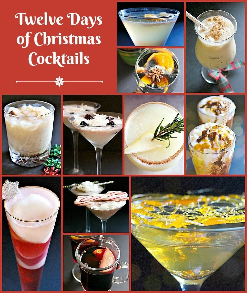 Twelve Days of Christmas Cocktails1