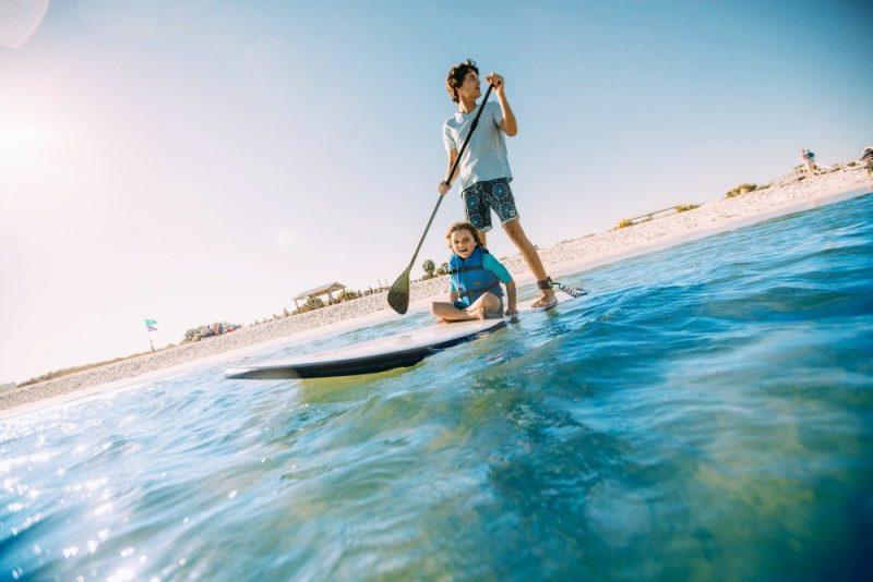 Panama City Beach paddleboarding