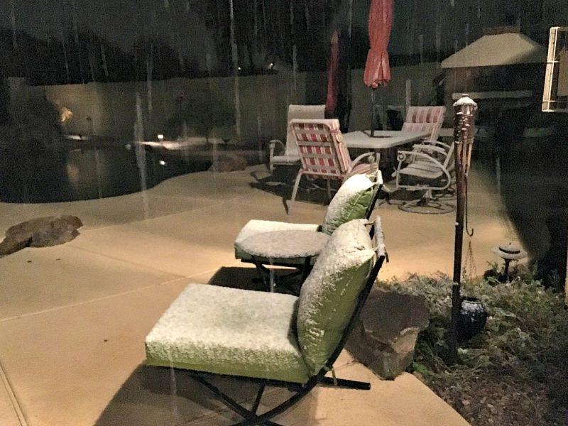 Snow in Central Arizona9