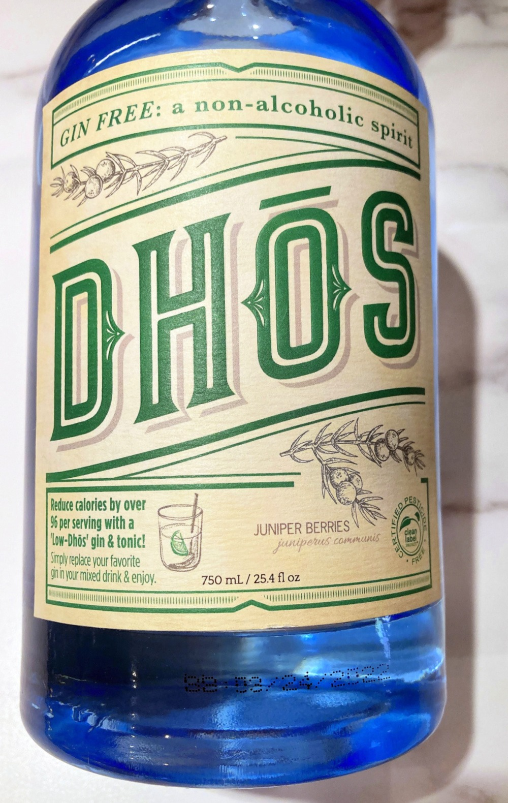 Dhos Gin Free Non-Alcoholic Gin & Tonic