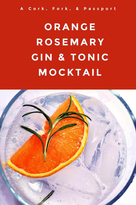 Orange Rosemary Gin & Tonic Mocktail Cocktail1