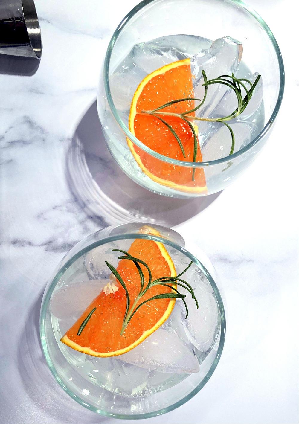Orange Rosemary Gin & Tonic Mocktail2