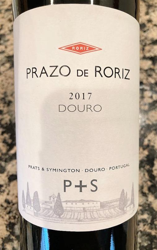 Prats + Symington 2017 Prazo de Roriz wine romantic dinner