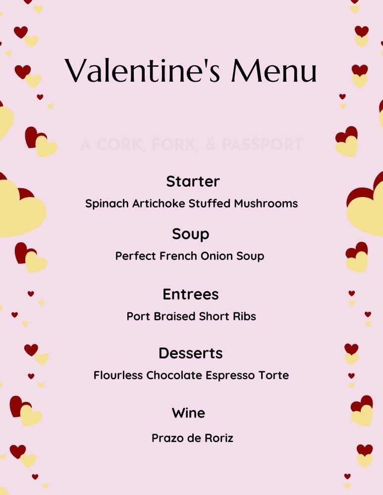 Romantic Gourmet Four-Course Dinner at Home2