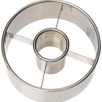 "Ateco 8541954757 Donut Cutter, 3.5"", Stainless steel 3-1/2-Inch"