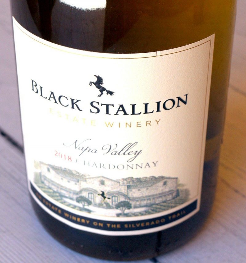 Nlack Stallion Estate Winery Chardonnay