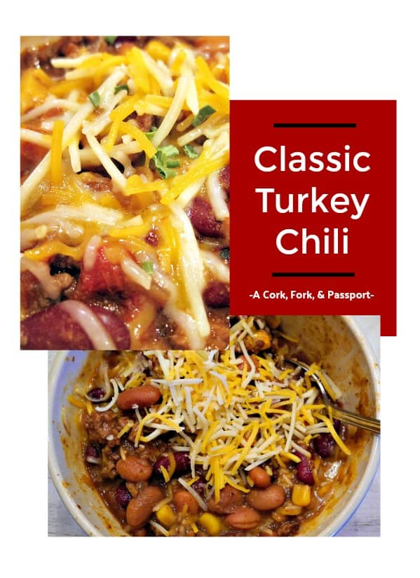 Classic Turkey Chili Game Day Chili