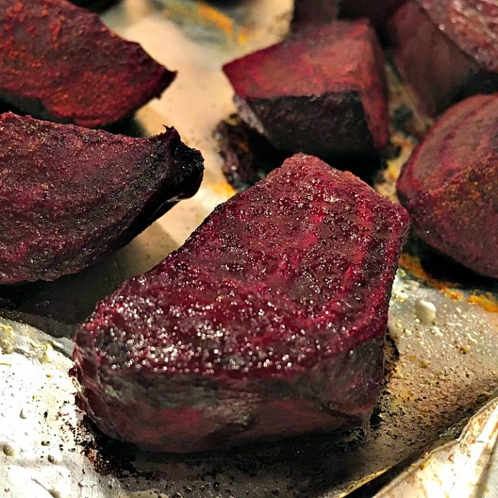 Healthy Cumin Roasted Beets