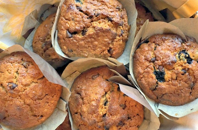 Delicious Honey Blueberry Oat Muffins7