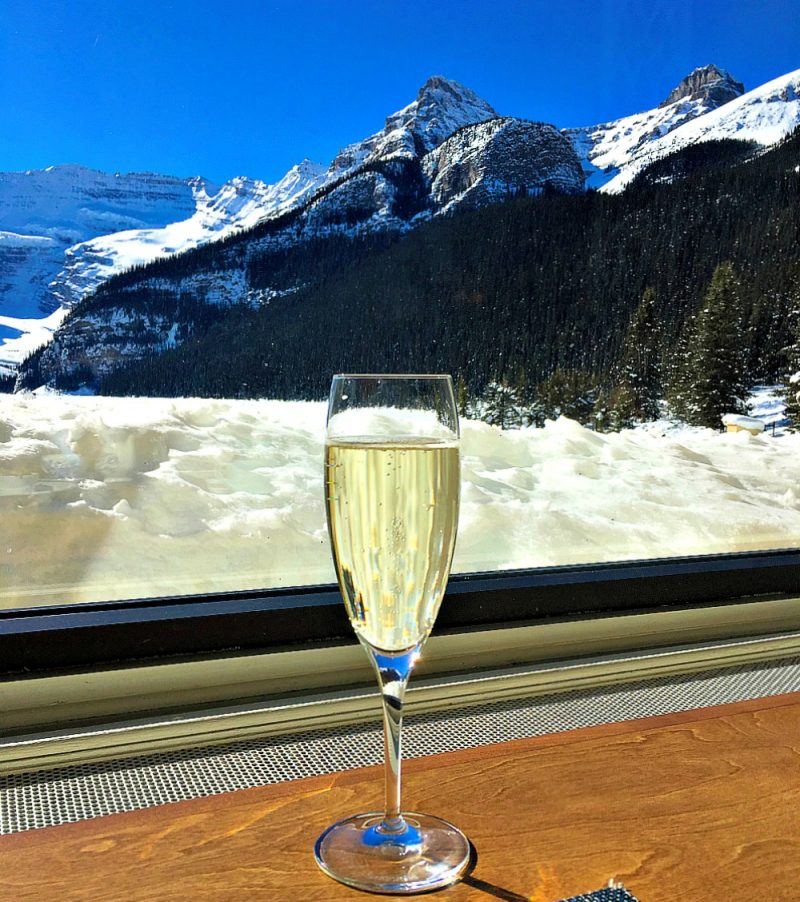 Dining at the Fairmont Chateau Lake Louise15