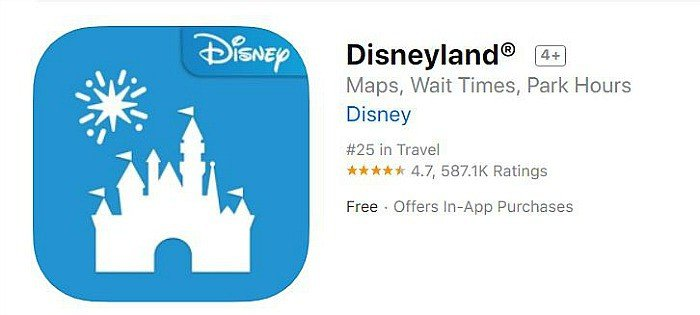 Official Disneyland iPhone app