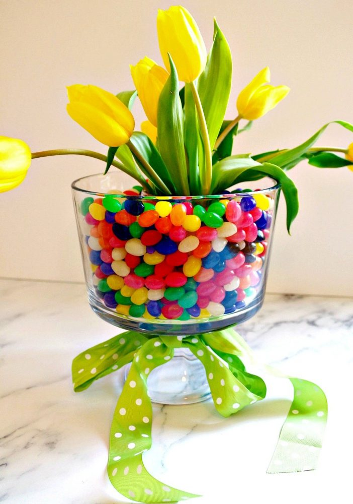 DIY Easter Jelly Bean Centerpiece4
