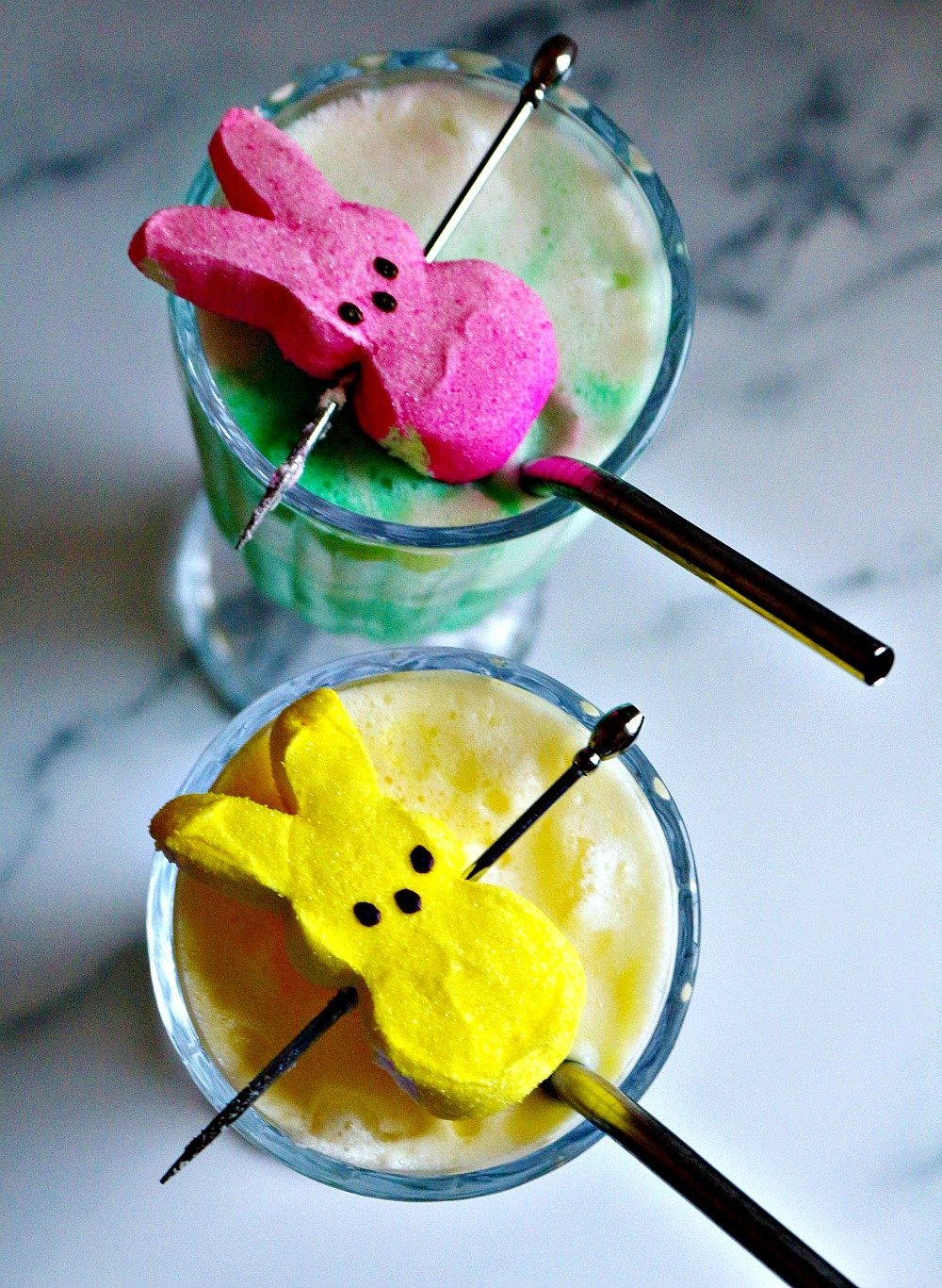 Easter Peeps Colada Cocktail