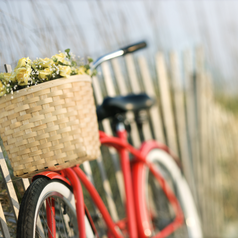 Easy as riding a bicycle Women's self care