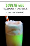 Goblin Goo Halloween Cocktail